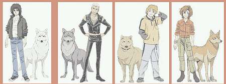 In one city, four wolves come together for certain reasons